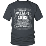 Birthday T-Shirt - Premium - 1985