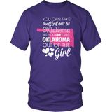 Oklahoma T-Shirt Design - Girl Out Of Oklahoma