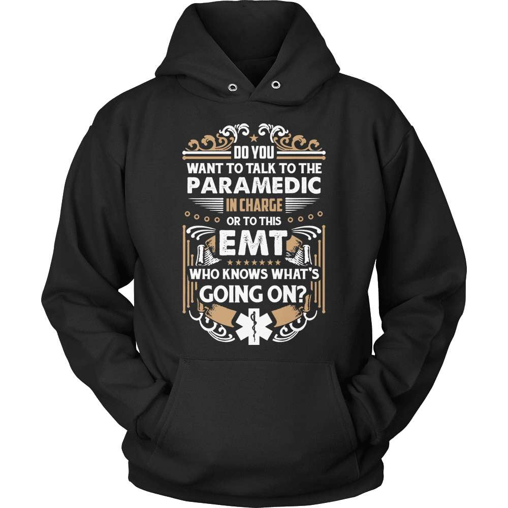 EMT T-Shirt Design - EMT Who Knows