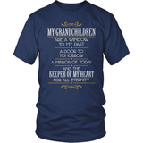 Grandparent T-Shirt Design - The Keeper Of My Heart