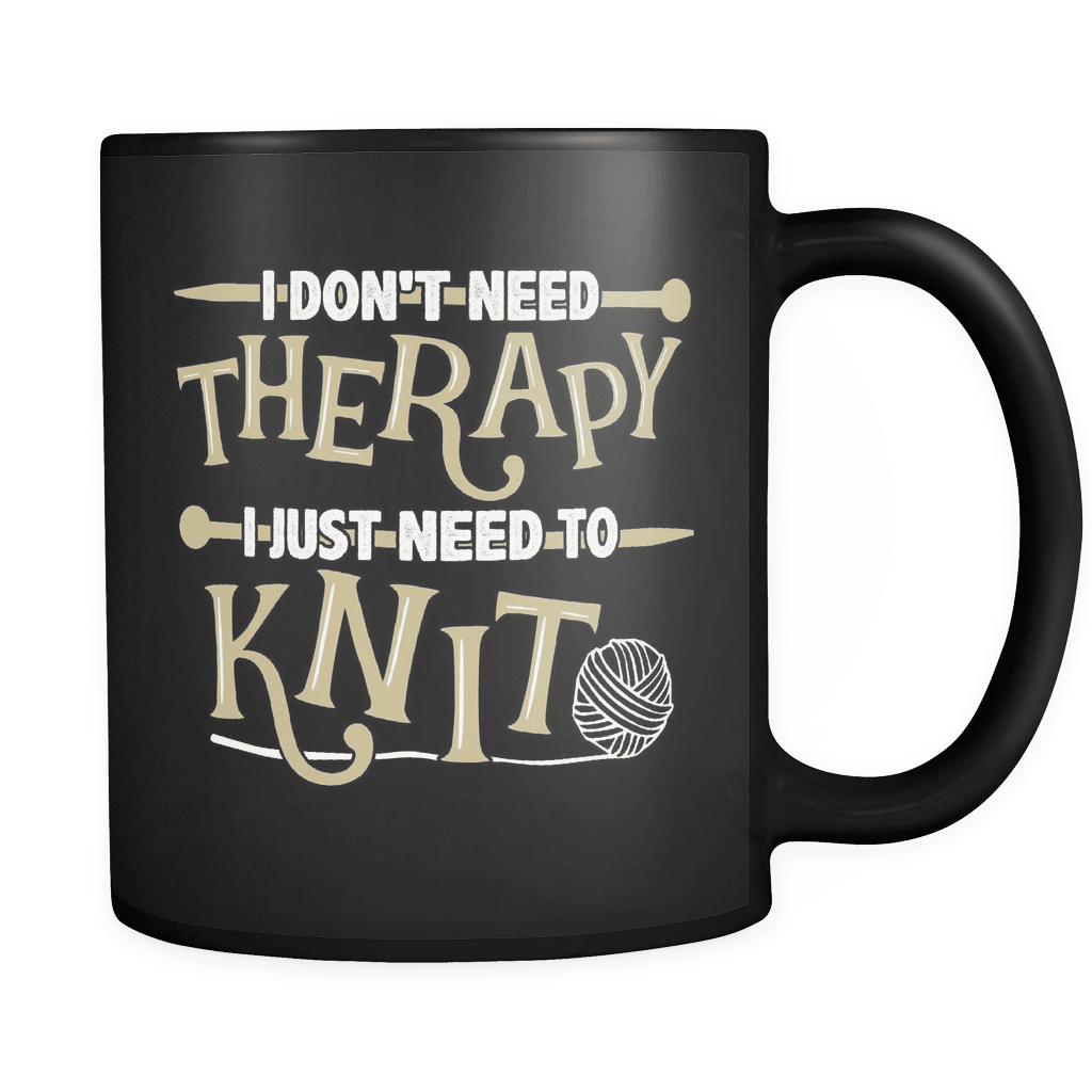 I Just Need To Knit - Luxury Knitting Mug