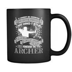 Forever The Title - Luxury Archery Mug