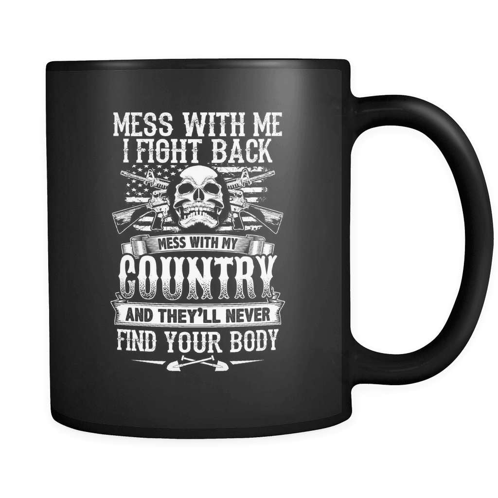My Country - Luxury Veteran Mug - snazzyshirtz.com
