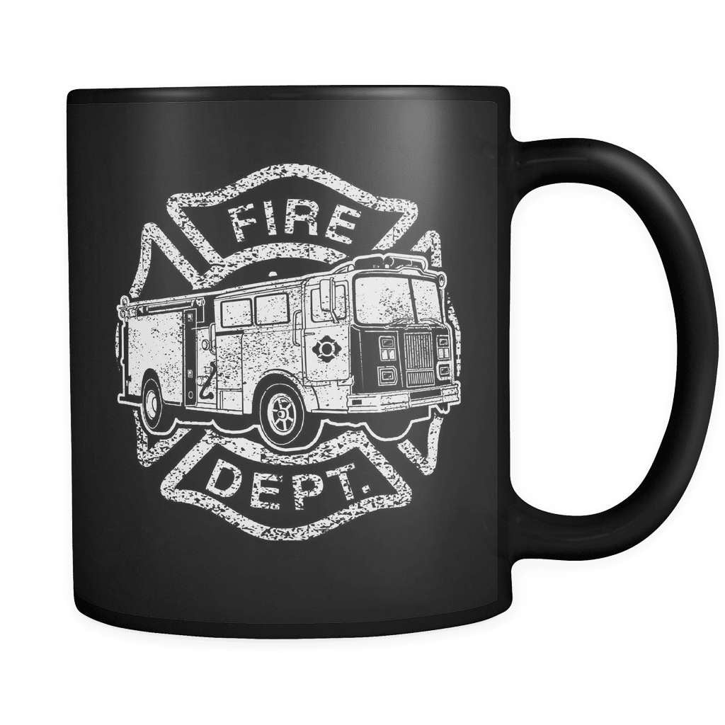 Fire Truck - Luxury Firefighter Mug - snazzyshirtz.com