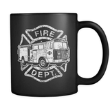 Fire Truck - Luxury Firefighter Mug