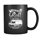 This Is How I Roll - Luxury Mail Carrier Mug
