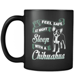 Sleep With A Chihuahua - Luxury Mug