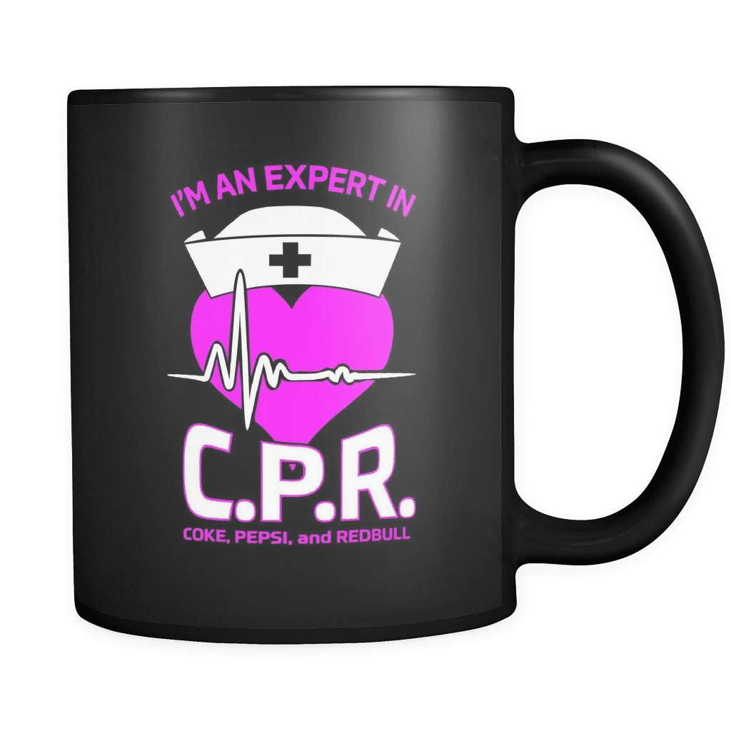 Expert In C.P.R - Luxury Nurse Mug