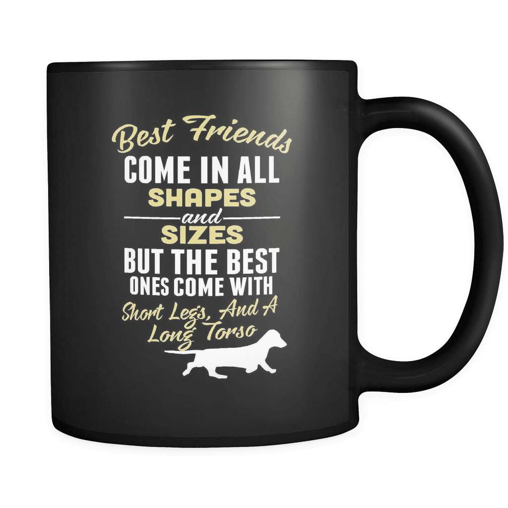 Short Legs And A Waggy Tail - Luxury Dachshund Mug