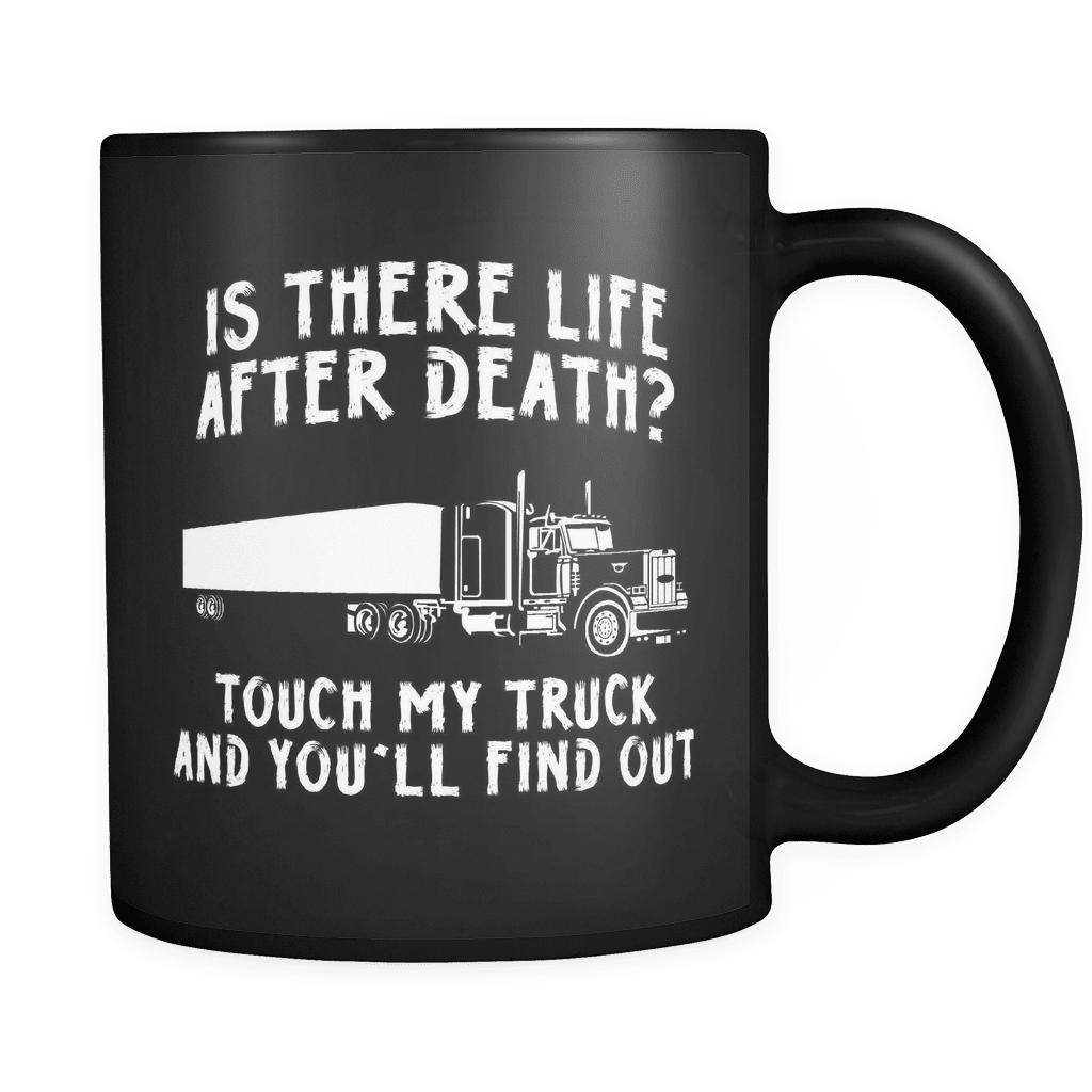 Touch My Truck - Luxury Trucker Mug