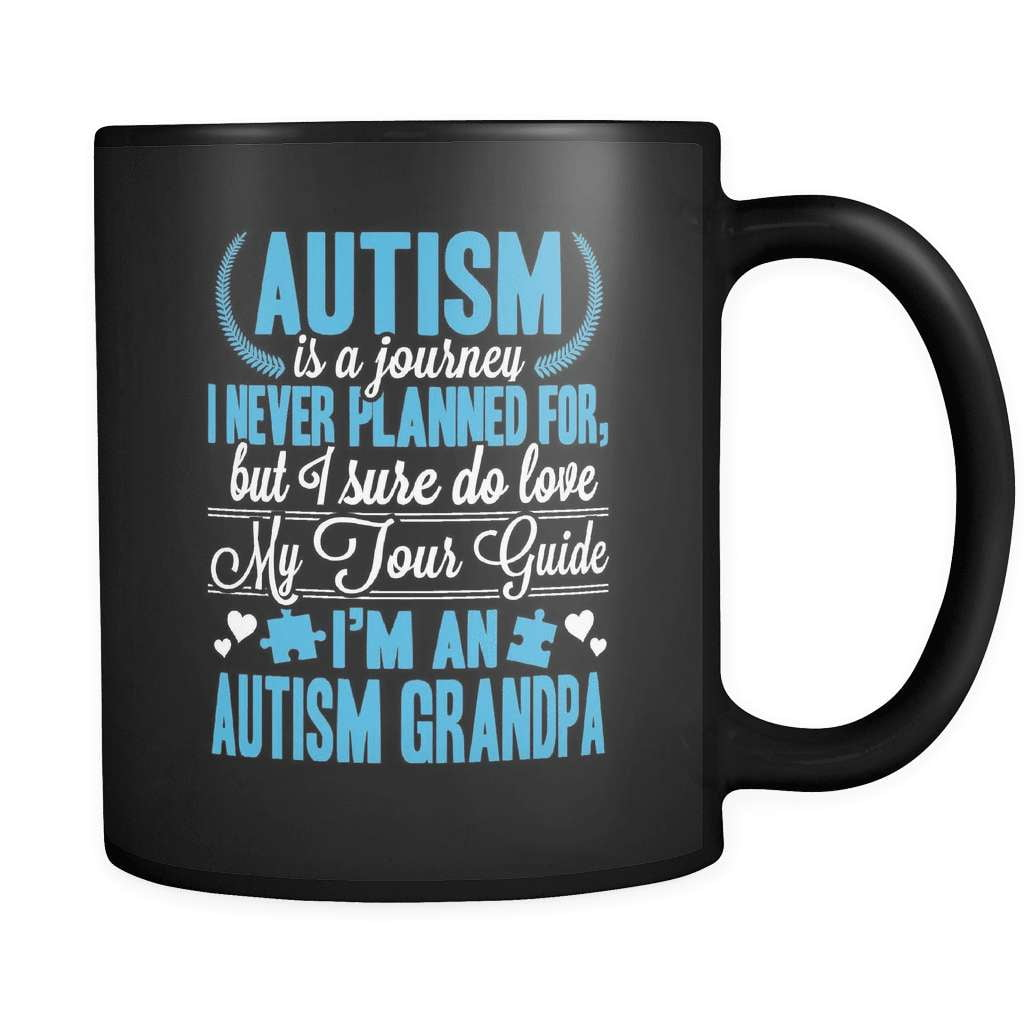 I'm An Autism Grandpa - Luxury Mug