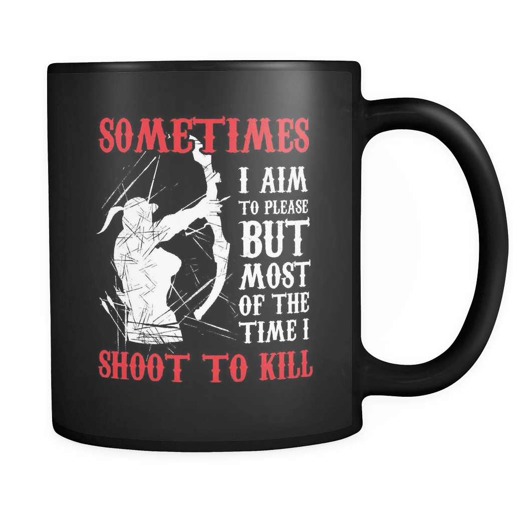 I Shoot To Kill - Luxury Archery Mug