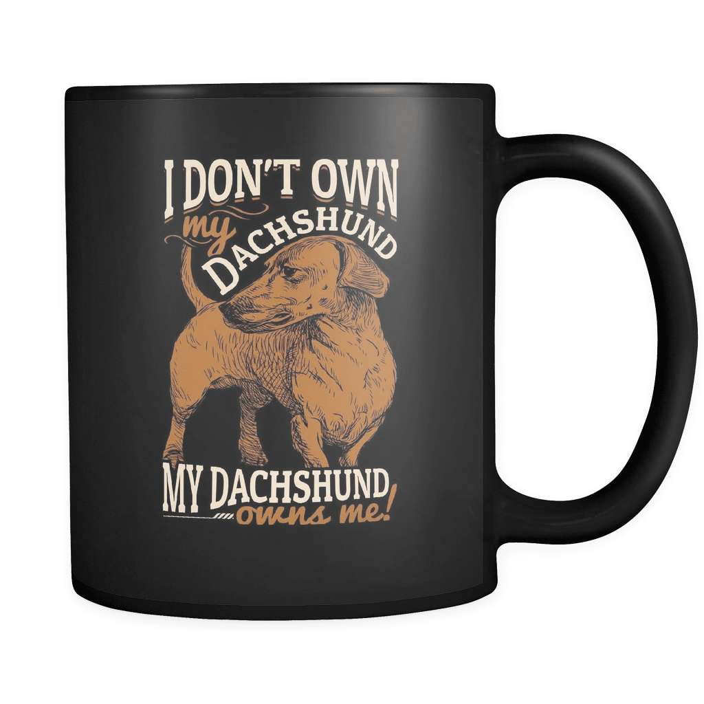My Dachshund Owns Me - Luxury Mug
