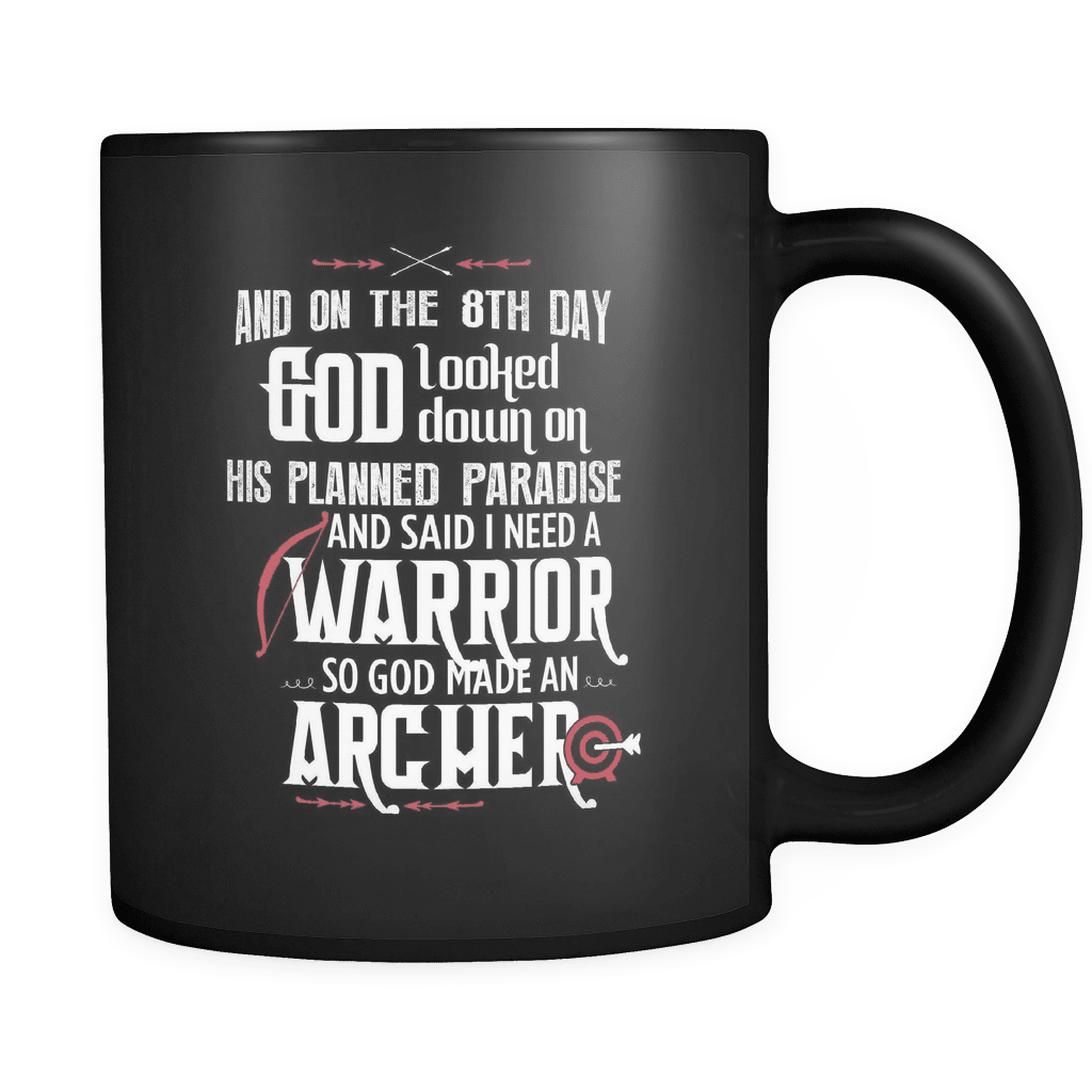 And On The 8th Day - Luxury Archery Mug