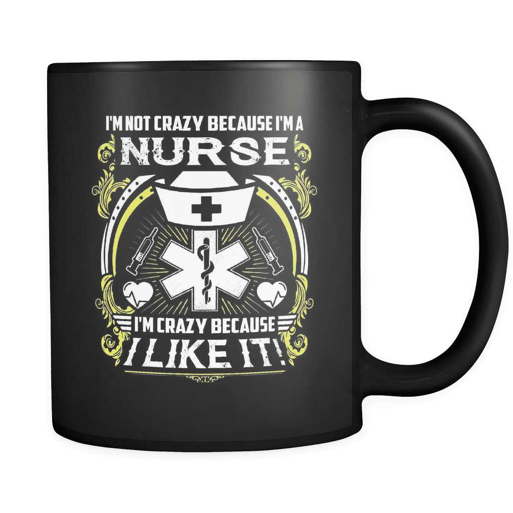 Crazy Nurse - Luxury Mug