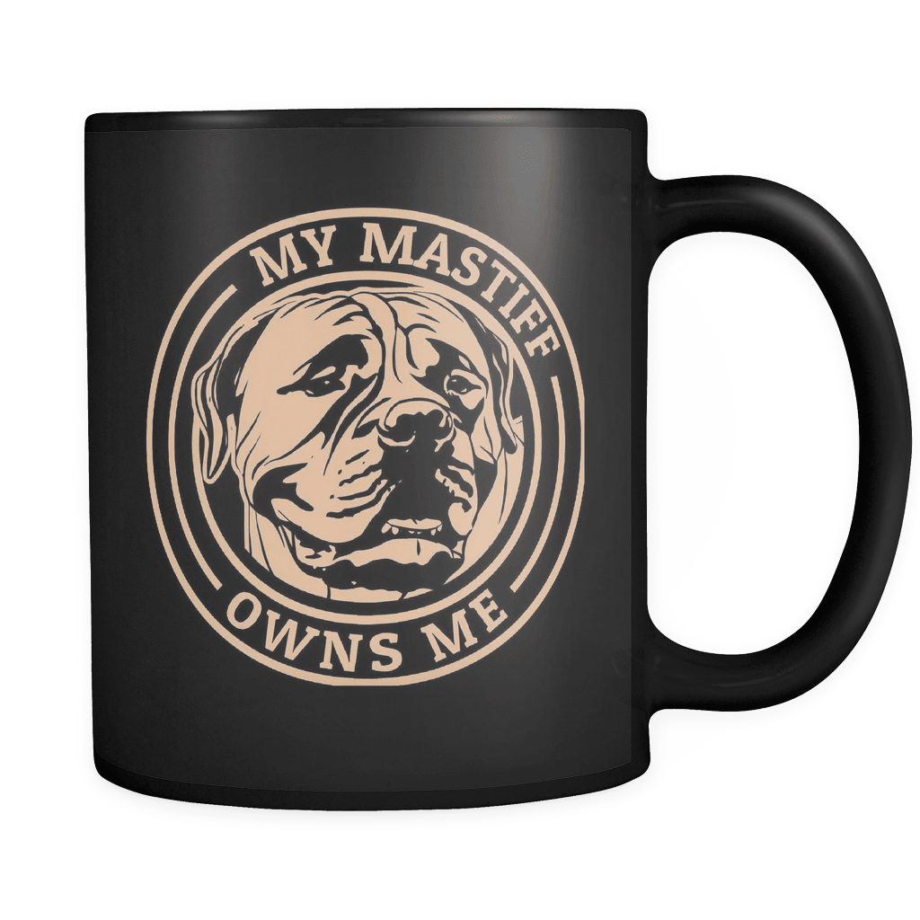 Owns Me - Luxury Mastiff Mug