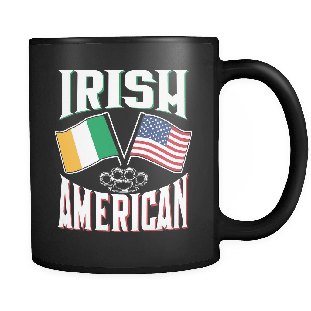 Irish American - Luxury Mug