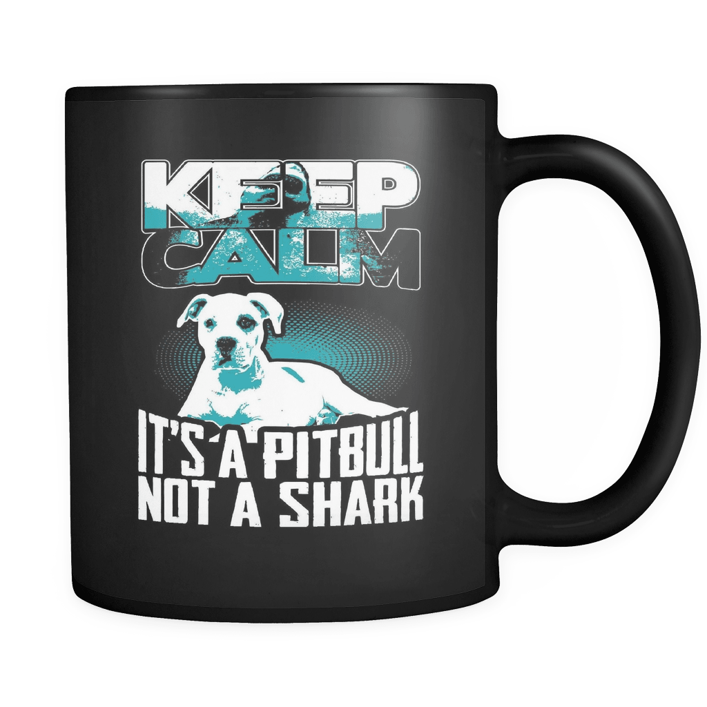 Not A Shark - Luxury Pit Bull Mug