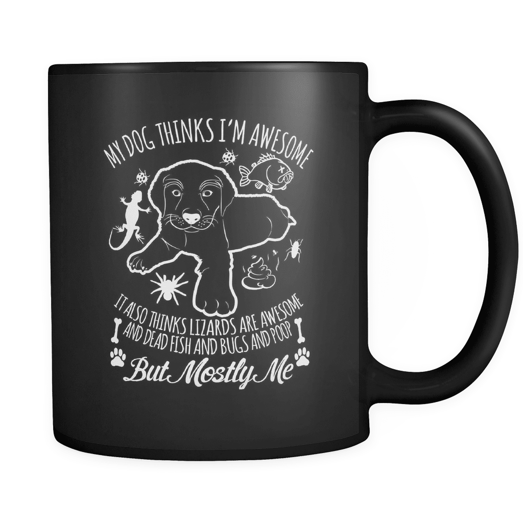 Mostly Me - Luxury Dog Mug