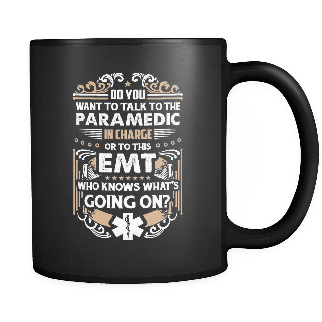 EMT Who Knows - Luxury Mug