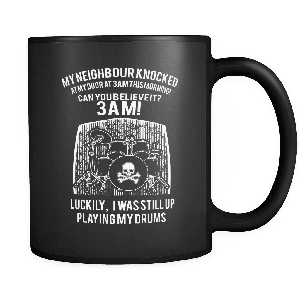 Luckily I Was Still Playing Drums! - Luxury Drummer Mug