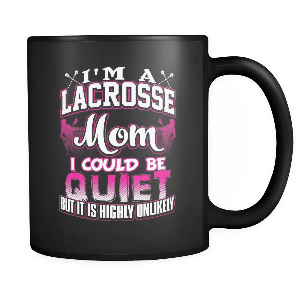Lacrosse Mom - Luxury Mug