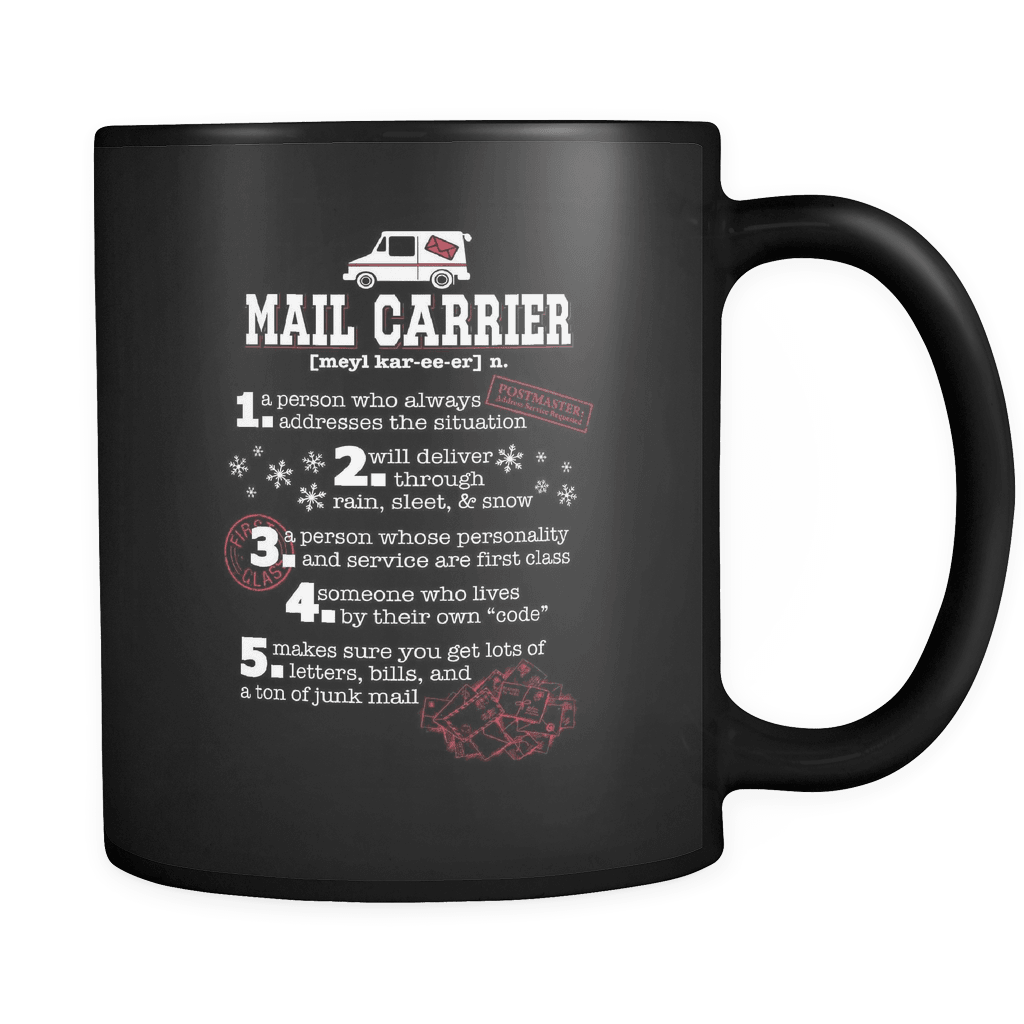 I'm A Mail Carrier - Luxury Mug