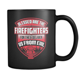 Blessed Are The Firefighters - Luxury Mug