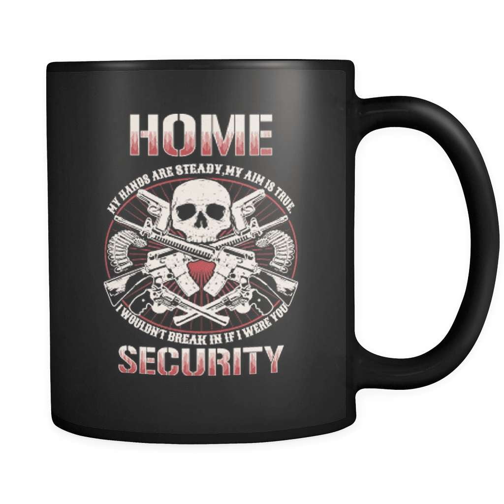 My Aim Is True - Luxury Gun Mug