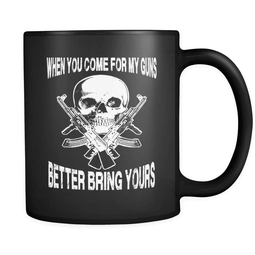 Better Bring Yours! - Luxury Gun Mug - snazzyshirtz.com