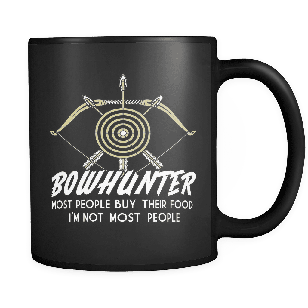 I'm Not Most People - Luxury Archery Mug
