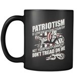 Patriotism Is Love Of Your Country - Luxury Gun Mug