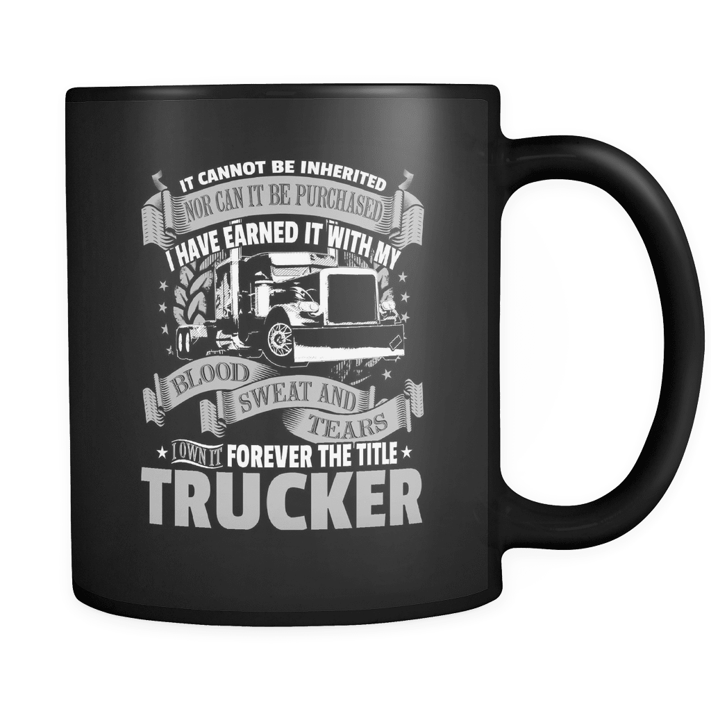 Forever The Title - Luxury Trucker Mug