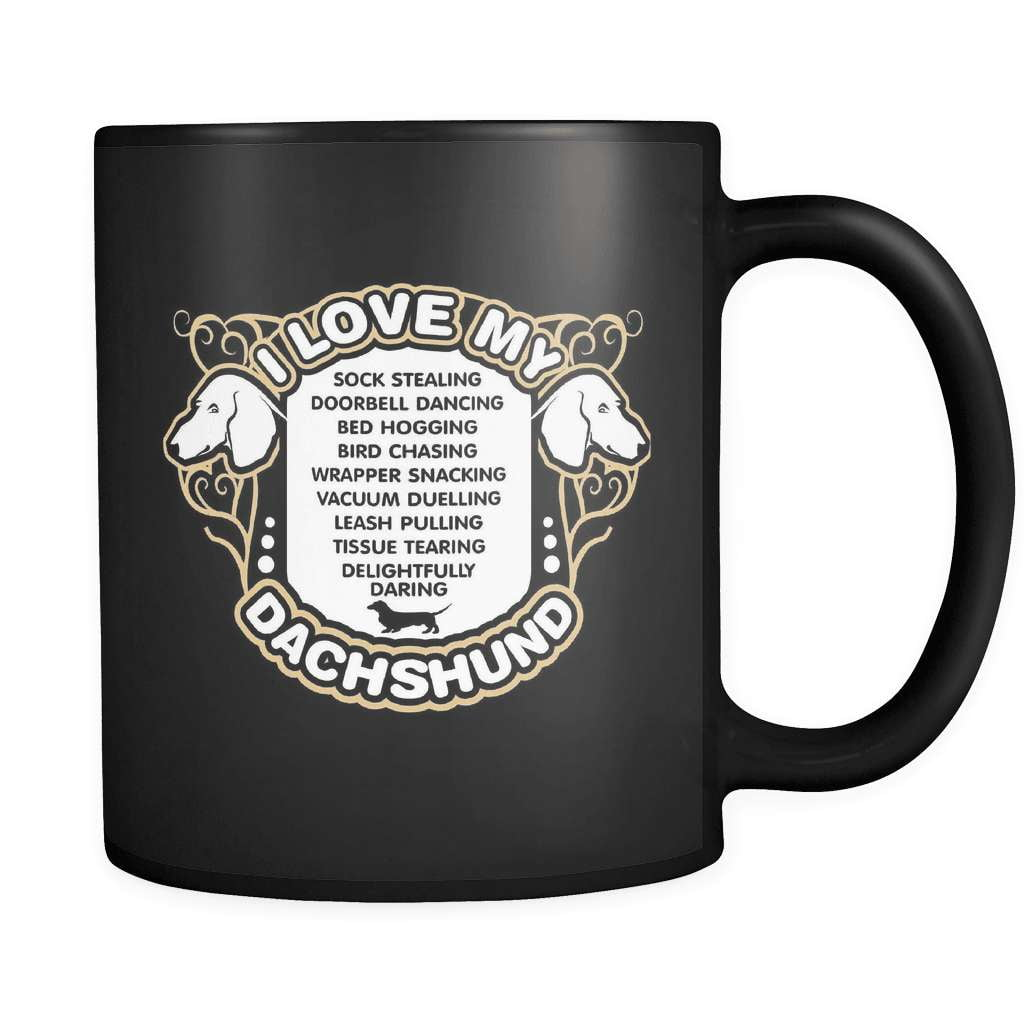 Love My Dachshund - Luxury Mug