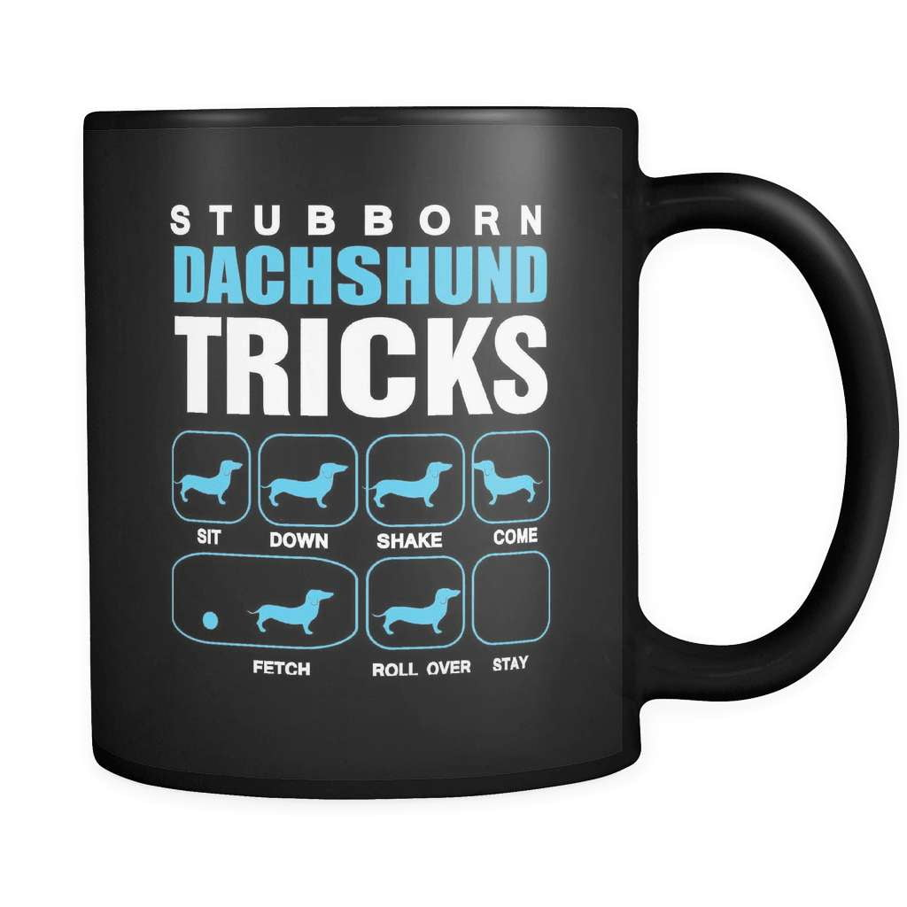 Stubborn Tricks - Luxury Dachshund Mug
