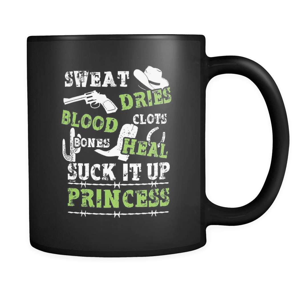 Suck It Up Princess! - Luxury Country Mug - snazzyshirtz.com