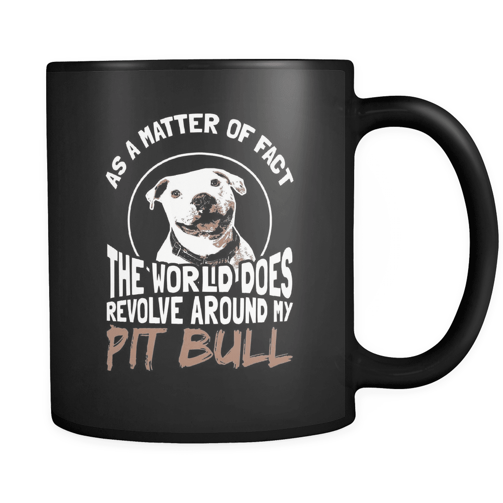 World Revolves - Luxury Pit Bull Mug