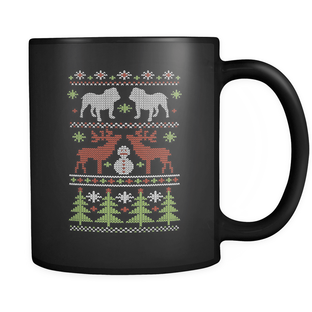 Christmas Bulldog Luxury Mug