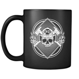 Fueled By Fire - Luxury Firefighter Mug