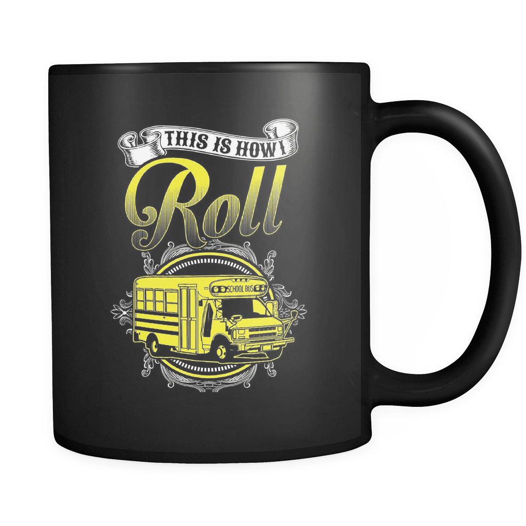 School Bus Roll - Luxury School Bus Driver Mug