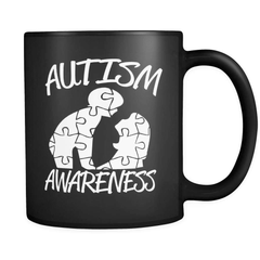 Autism Awareness - Luxury Mug - snazzyshirtz.com