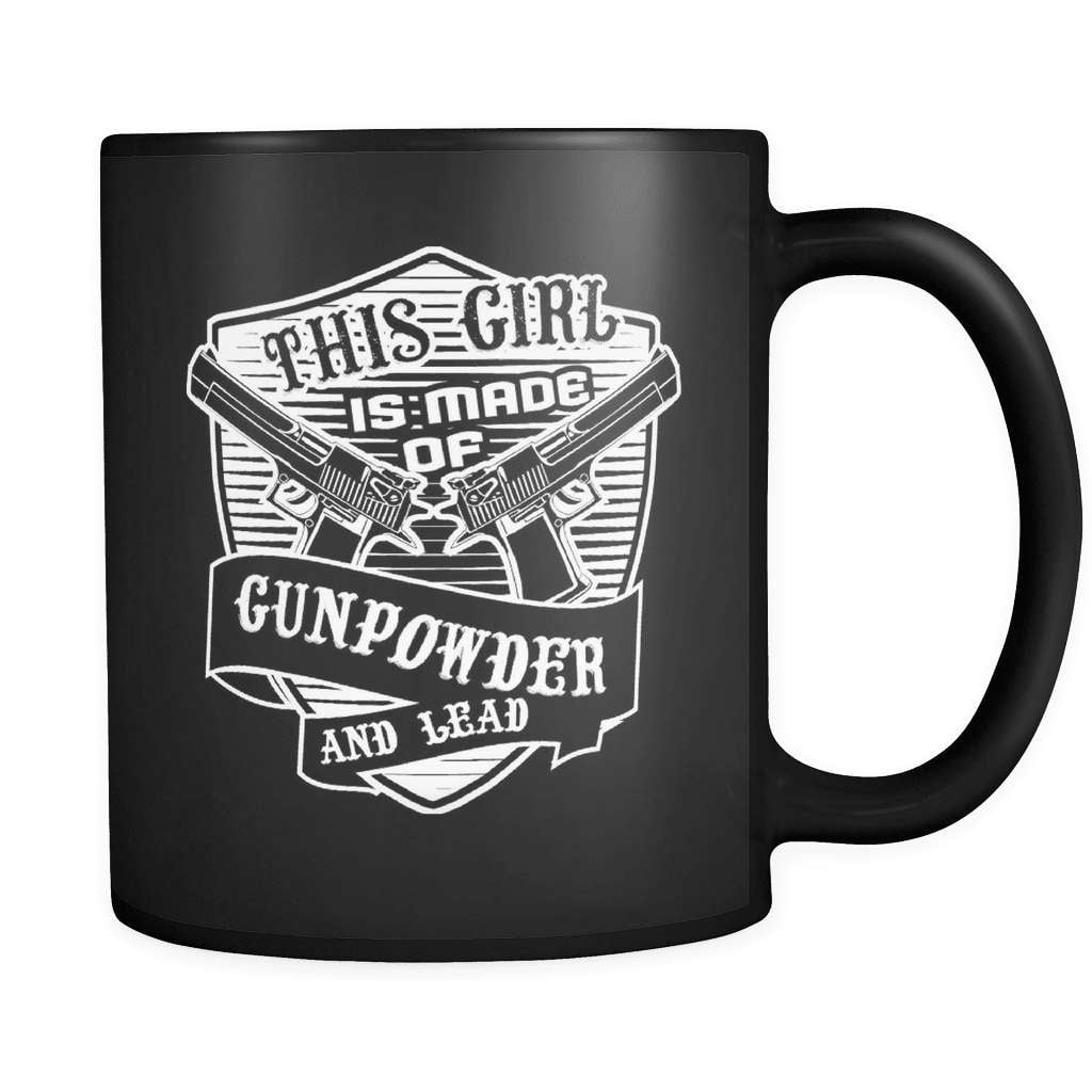 Gunpowder & Lead - Luxury Gun Mug