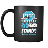 Standing Out (boy) - Luxury Autism Mug