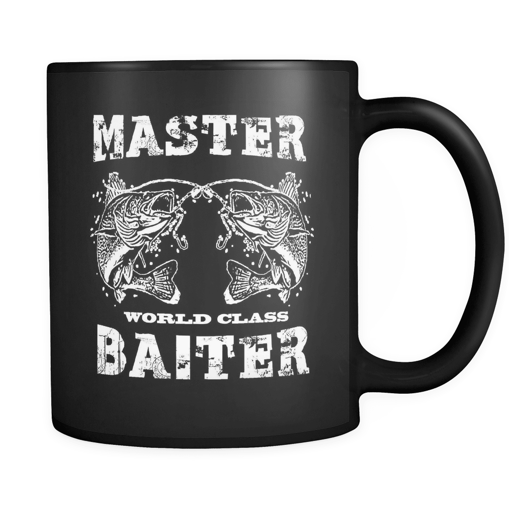 Master Baiter World Class! - Luxury Fishing Mug