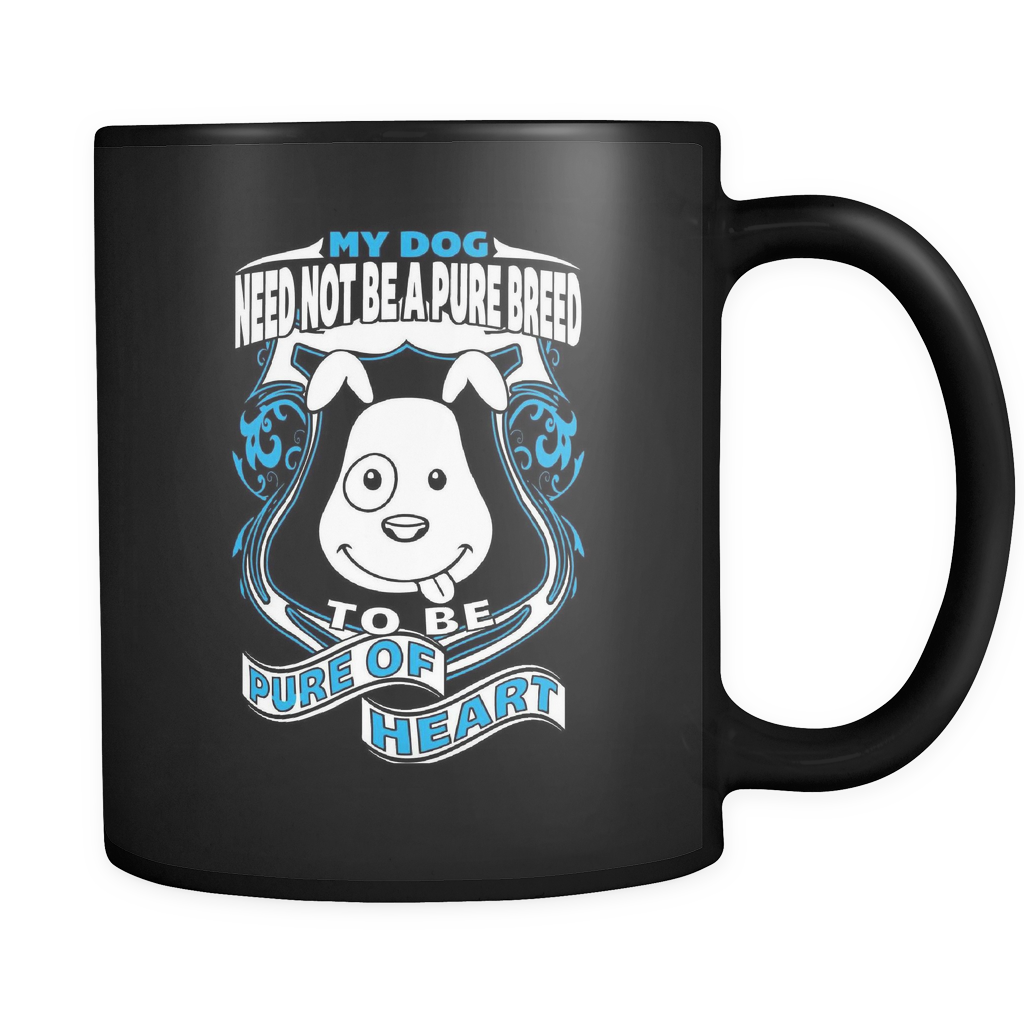 Pure Of Heart - Luxury Dog Mug
