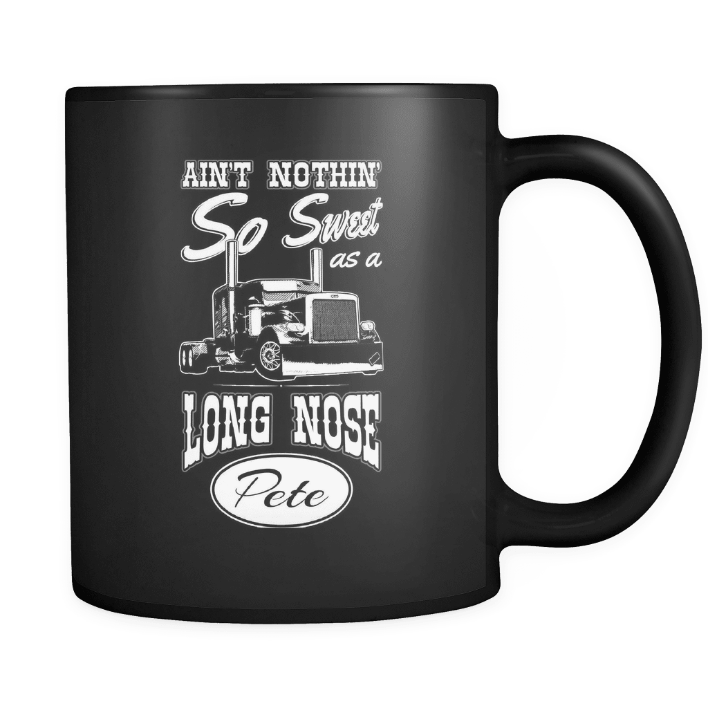 Long Nosed Pete - Luxury Trucker Mug