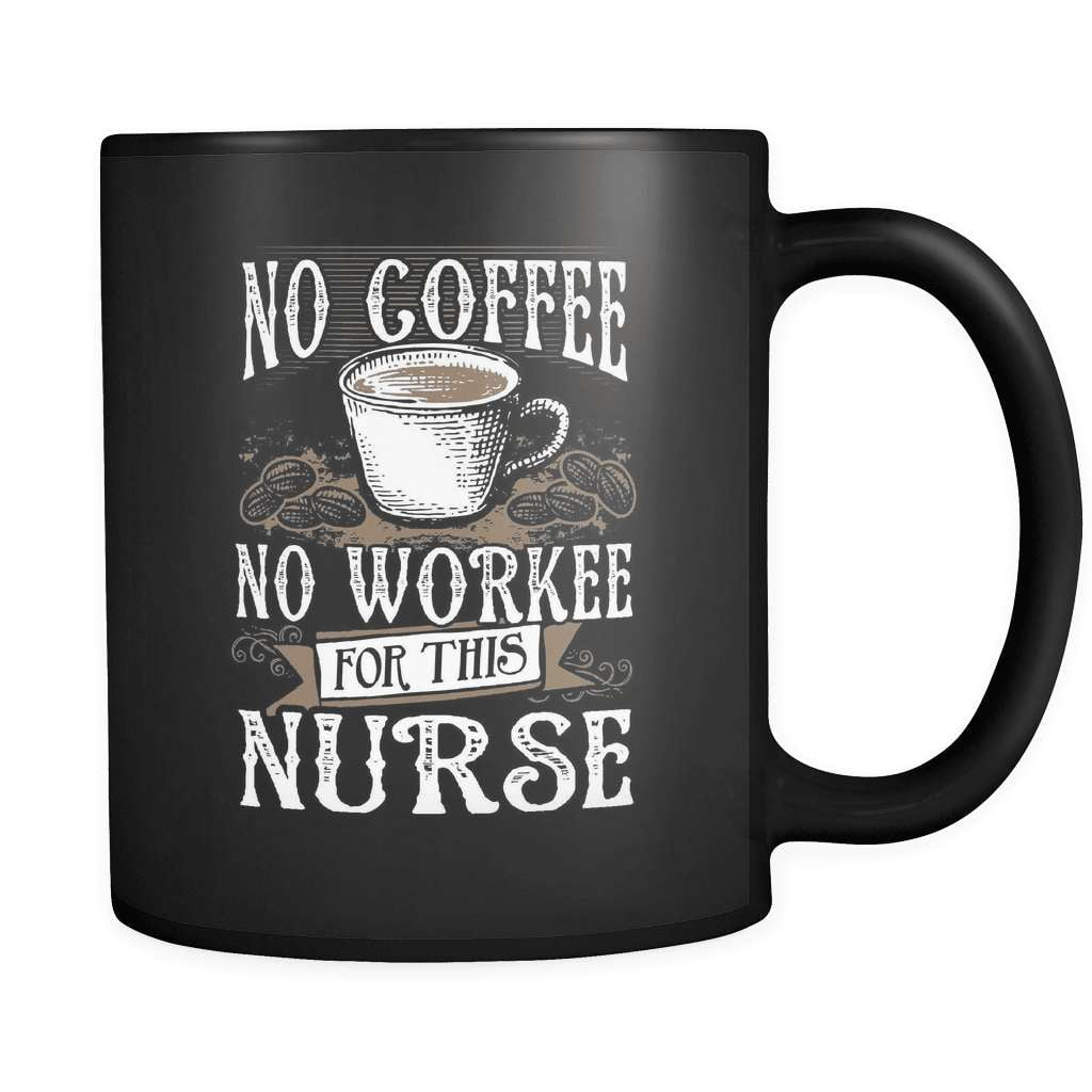 No Coffee No Nurse - Luxury Mug