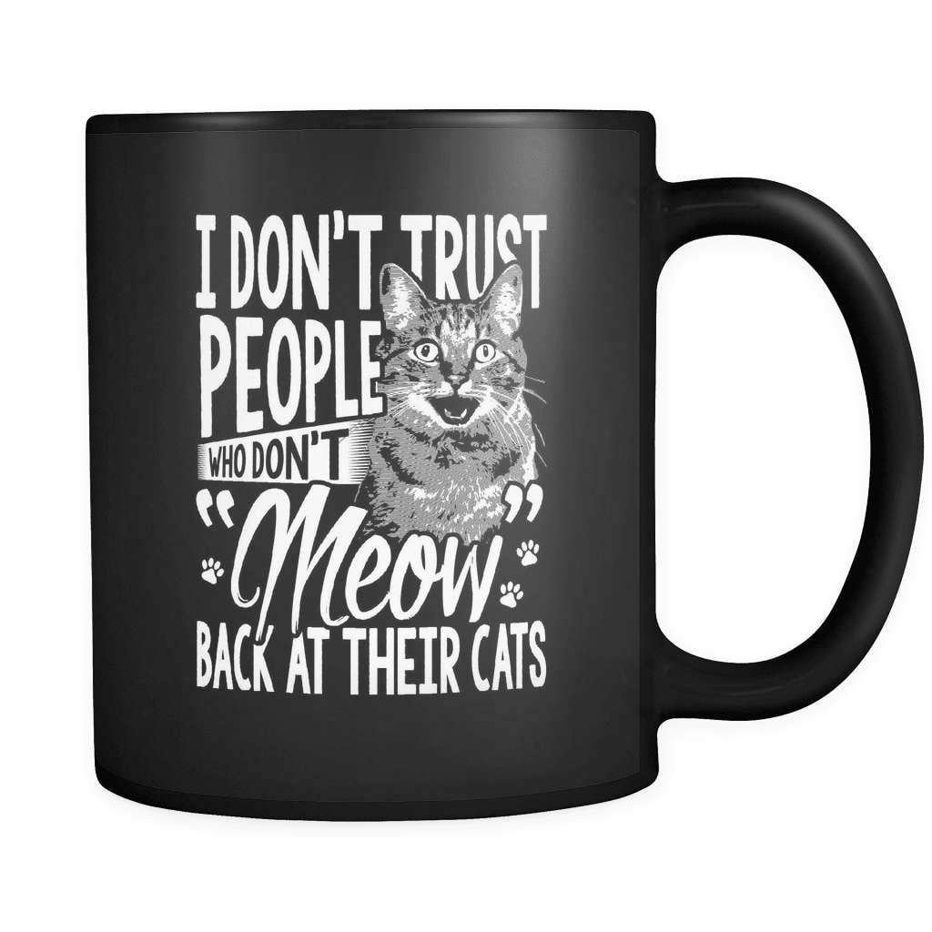 Meow At Your Cat - Luxury Mug