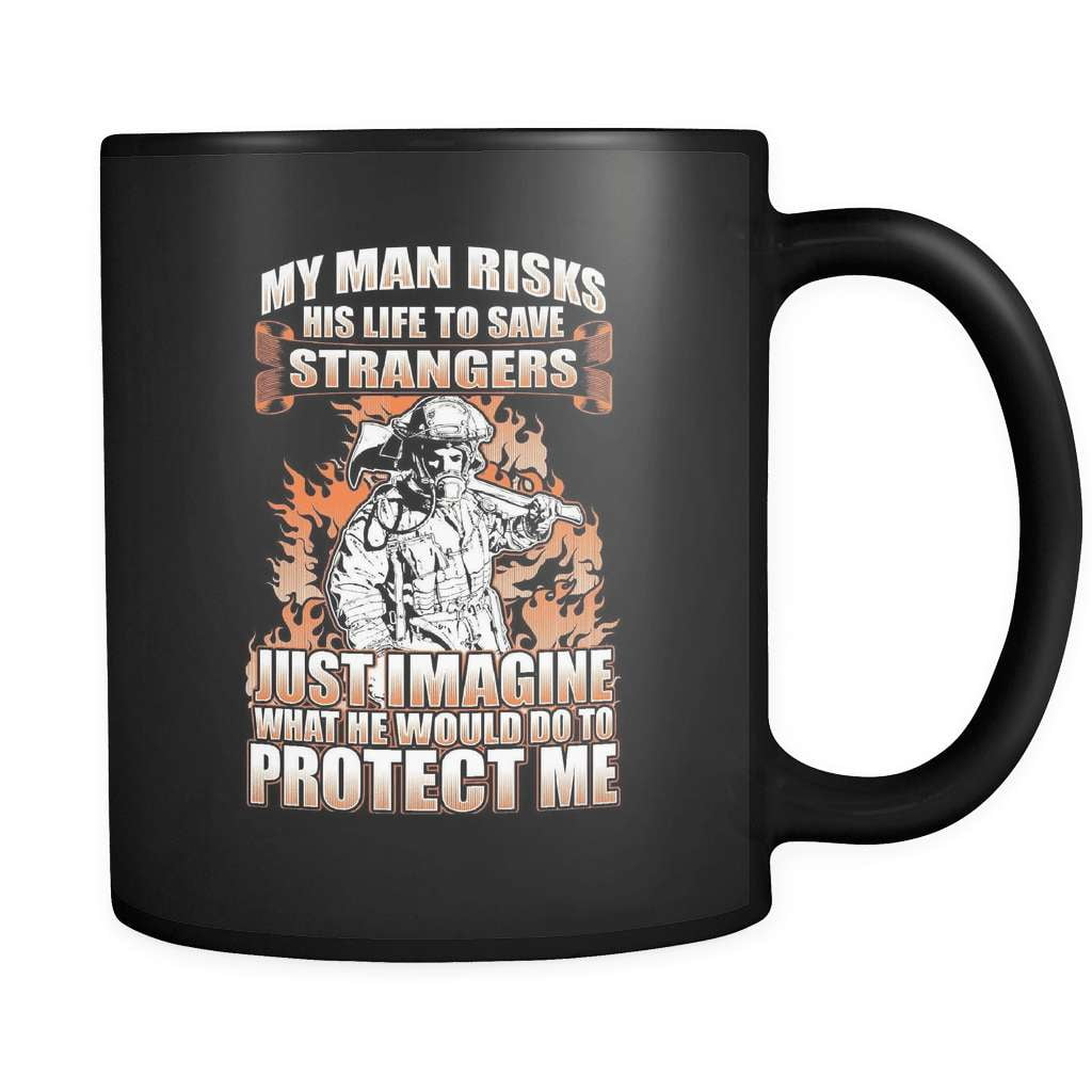 Protect Me - Luxury Firefighter Mug