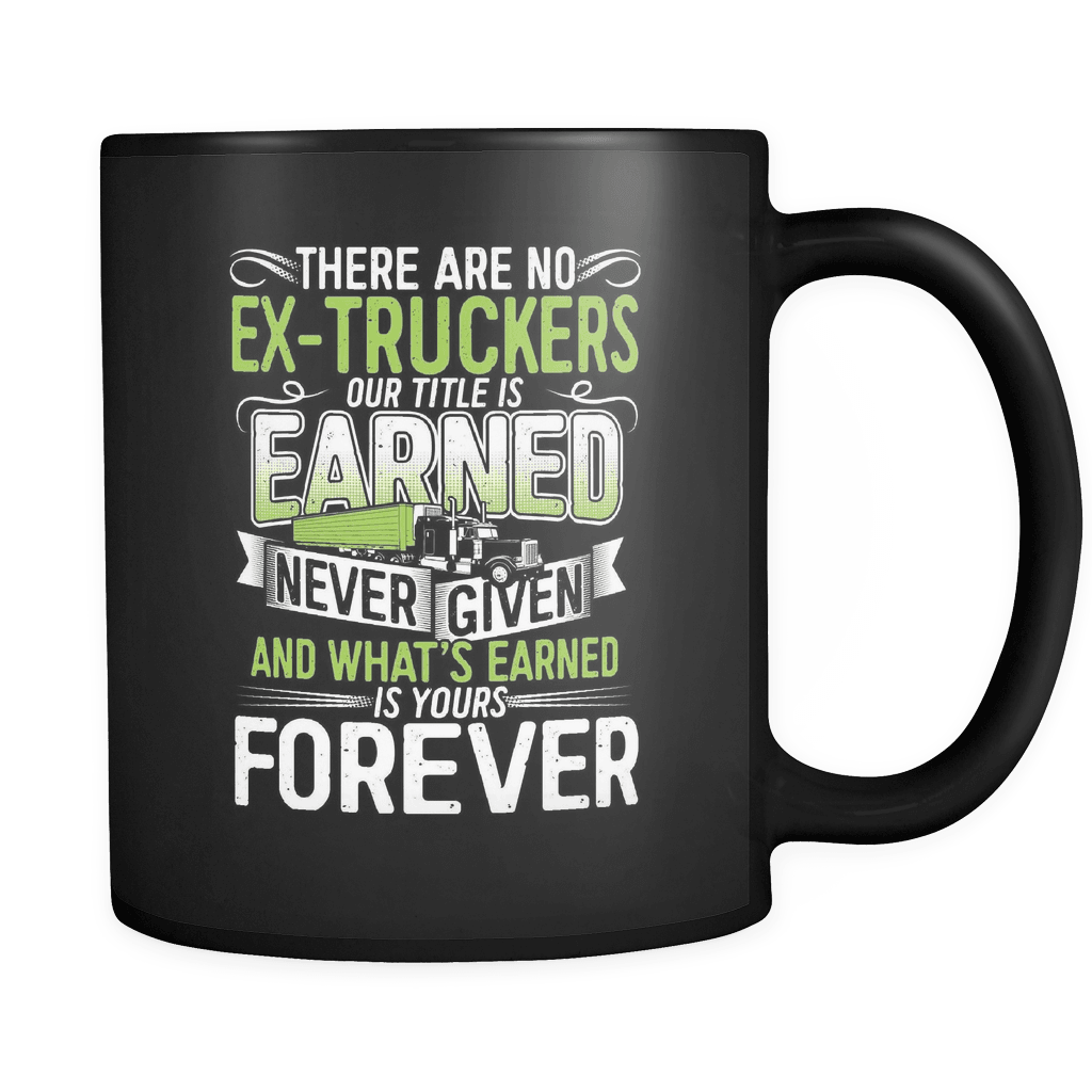 No Ex-Truckers - Luxury Mug